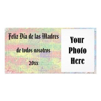 Foto de la tarjeta de Feliz Dia de las Madres Tarjetas Fotograficas Personalizadas