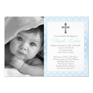 Foto de las cruces de los anillos de la eternidad invitación 12,7 x 17,8 cm