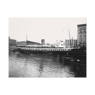 Foto de los 1890's de Virginia @ Milwaukee de la Lienzo