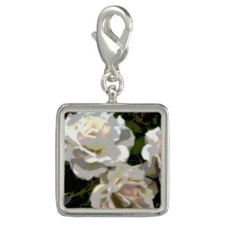 Foto de los rosas blancos dijes