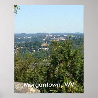 Foto de Morgantown WV de los posters del botón de