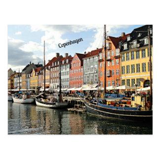 Foto del canal en Copenhague Postal