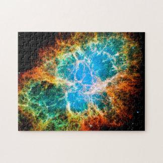 Foto del espacio de Hubble el remanente de la Puzzle
