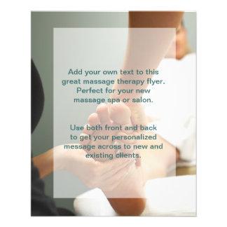 Foto del masaje del pie folleto 11,4 x 14,2 cm