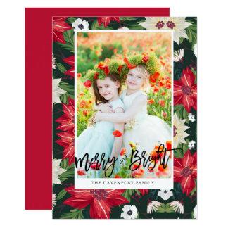 Foto del navidad de la tarjeta de la foto del día