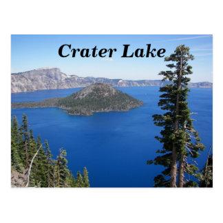 Foto del parque nacional del lago crater postal