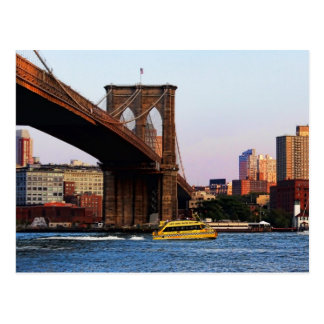Foto del puente de Brooklyn en NYC Postales