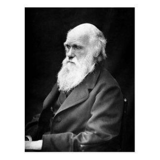 Foto del retrato de Charles Darwin Postal