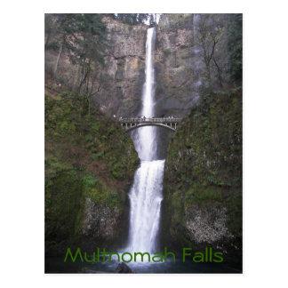 Foto del viaje de las caídas de Multnomah Postal