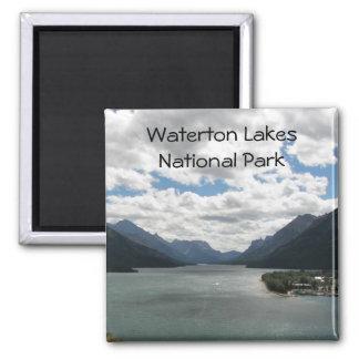 Foto del viaje de los lagos Waterton Imán