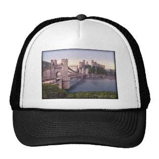 Foto del vintage de País de Gales del castillo de  Gorros