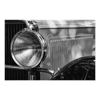 Foto Detalle antiguo - en blanco y negro
