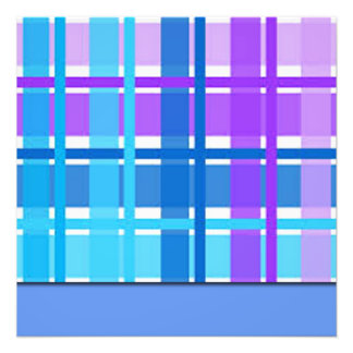 Foto Diseño azul y púrpura de la tela escocesa