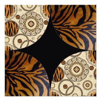 Foto Diseño del modelo del estampado de animales de