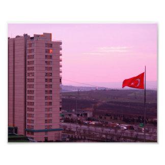 Foto el cielo de Estambul.