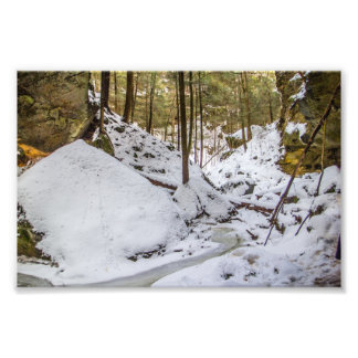 Foto El hueco de Conkle en invierno
