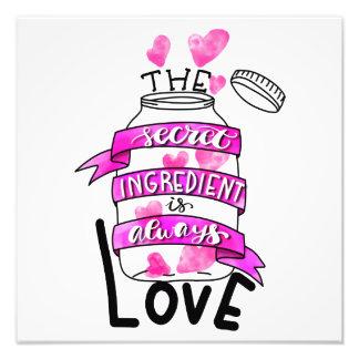 Foto El ingrediente secreto es siempre amor