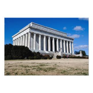 Foto El Lincoln memorial en Washington DC