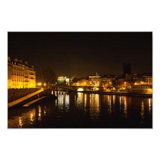 Foto El río Sena que cruza la ciudad de París
