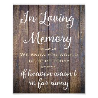 Foto En muestra cariñosa de la memoria, casando la