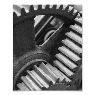 Foto Engranajes de la maquinaria