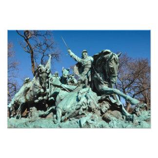 Foto Estatua de la guerra civil en Washington DC