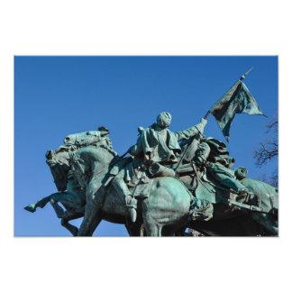 Foto Estatua del soldado de la guerra civil en