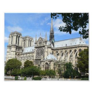 Foto Fachada del sur, catedral de Notre Dame, París,
