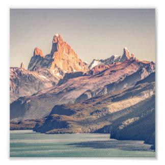 Foto Fitz Roy y montañas de Poincenot los Andes -