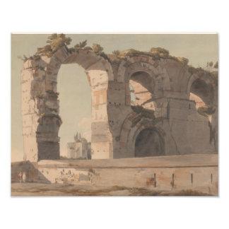 Foto Francisco Towne - el Claudian Aquaduct, Roma
