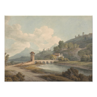 Foto Francisco Towne - puente moderno en Narni