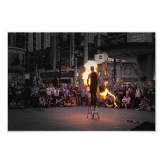 Foto Fuego-Azotar al Busker
