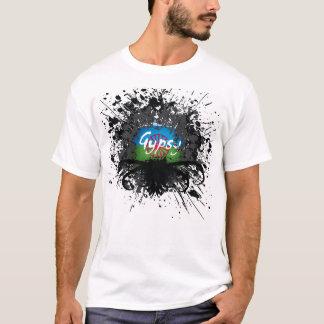 Foto gitana de la salpicadura - modificada para camiseta