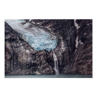 Foto Glaciar del fiordo de Sam Ford, impresión de la