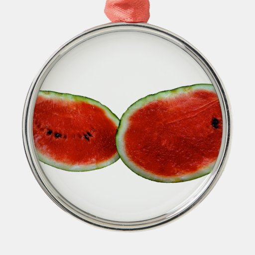 foto gráfica de la fruta de dos sandías ornamentos para reyes magos