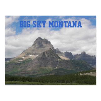 Foto grande del viaje de Montana del cielo Postal