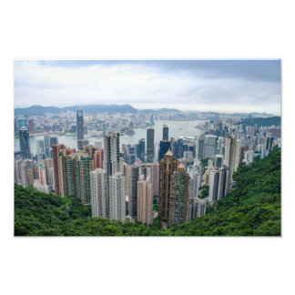 Foto Horizonte de Hong Kong