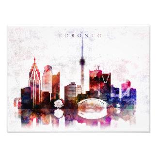 Foto Horizonte de la acuarela de Toronto