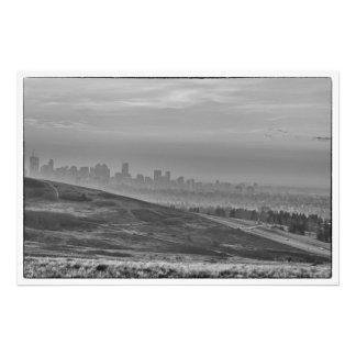 Foto Horizonte monocromático de Calgary