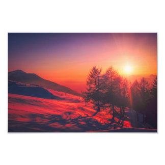Foto imagen de la salida del sol de Italia