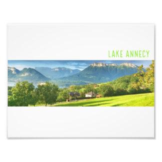 Foto Impresión de Annecy del lago