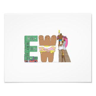 Foto Impresión de encargo el | NEWARK, NJ (EWR)