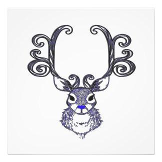 Foto Impresión de la lona de los ciervos de Bluenoser