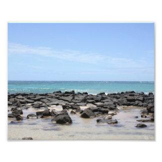 Foto Impresión de las vistas al mar de Kauai