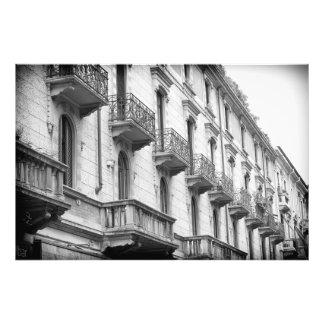 Foto Impresión de los balcones de Milano