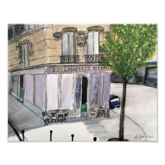 Foto Impresión del Paris Photo de Boulangerie