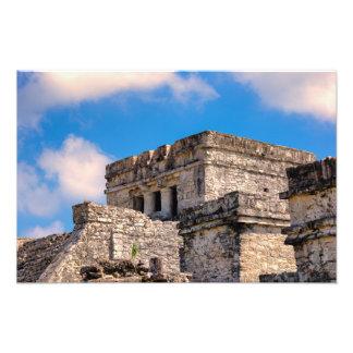 Foto Impresión - ruinas mayas - Tulum, México