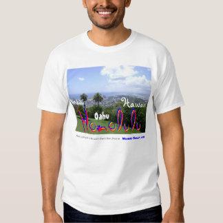 Foto impresionante de Waikiki, de Oahu, de Hawaii Camisetas