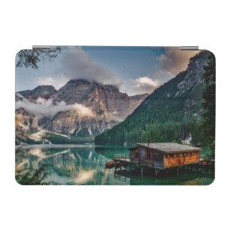 Foto italiana del paisaje del lago mountains cover de iPad mini