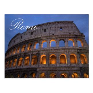 Foto italiana del viaje de Colosseum Roma Postal